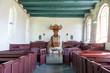 Interior old Dutch church