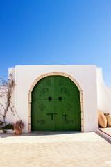 Porte de maison tunisiène