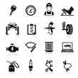 Car service maintenance icon set2. Vector illustration. - 50955100