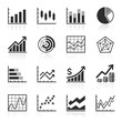 Business Infographic icons - Vector Graphics