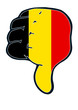 belgien thumb judgement down negativ