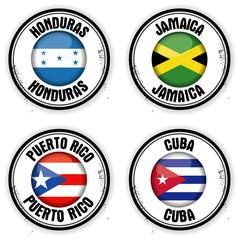 timbres Amérique Centrale