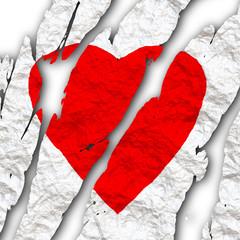 Gebrochenes Herz