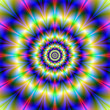 Neon Concentric Rings