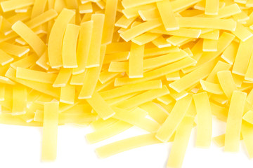 Uncooked Yellow Noodles