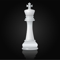 Chess white king