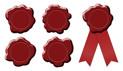 Wax Stamp Seal Round