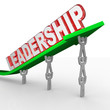 Leadership Word Team Lifting Arrow Management Vision
