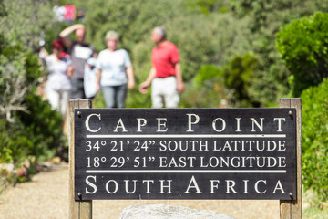 Cape point pathway
