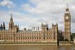 London, England, Parliament Building and  Big Ben