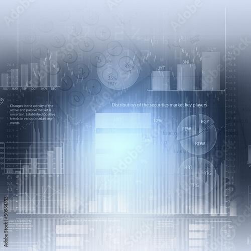 Marketing high tech background