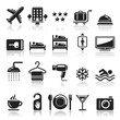 Hotel icons set1. vector eps 10