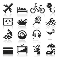 Hotel icons set3. vector eps 10