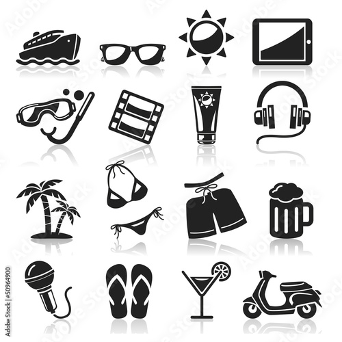 Travel icons set3. vector eps 10