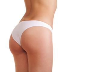 woman booty in panties