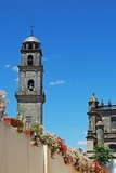 Cathedral & bell tower, Jerez de la Frontera, Andalusia, Spain.