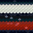 Seamless vector pattern. Skin of a snake