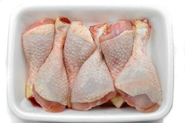 Bandeja de muslos de pollo