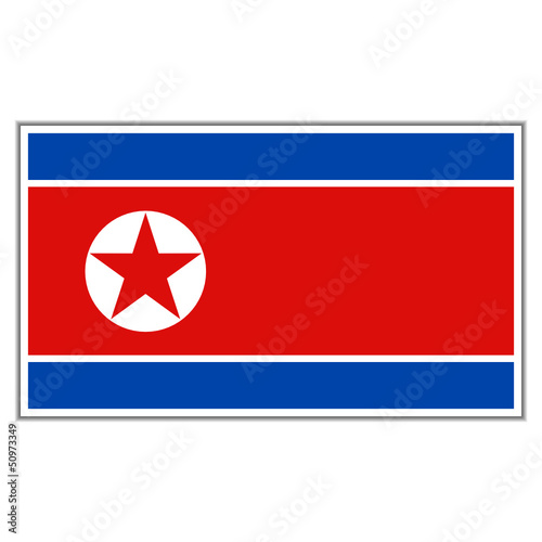 flagge nordkorea II