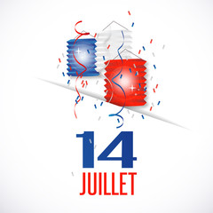 France - 14 juillet (fête nationale)
