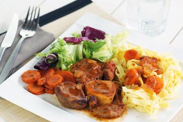 osso buco carottes et tagliatelles 4