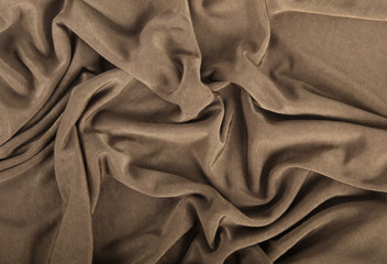 fondo di stoffa marrone