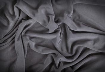 fondo di stoffa grigio