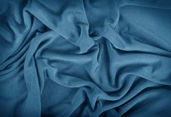 fondo di stoffa blu