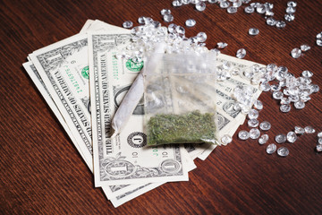 Money in drugs