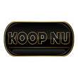 Black Koop Nu web icon for dutch e-commerce websitess