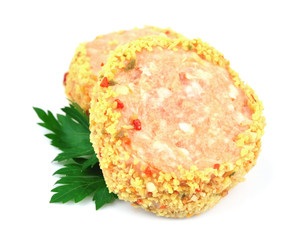 cutlets with spices