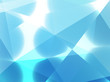 White Blue Geometric background vector eps
