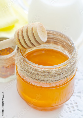 honey and milk