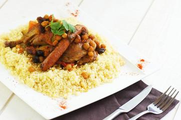 assiette de couscous 1