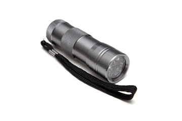 UV Flashlight Isolated on White Background