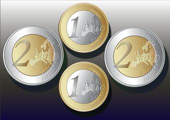 4 aded   metal  Euro