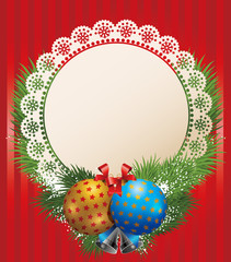 Christmas ball | Classic background series