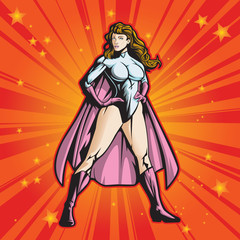 Super Hero Lady 2