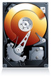 Hard disk drive HDD realistic vector