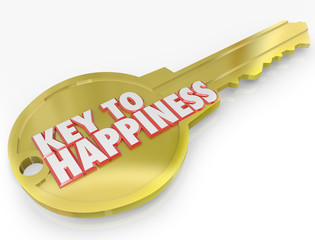 Gold Key to Happiness Golden Secret of Success