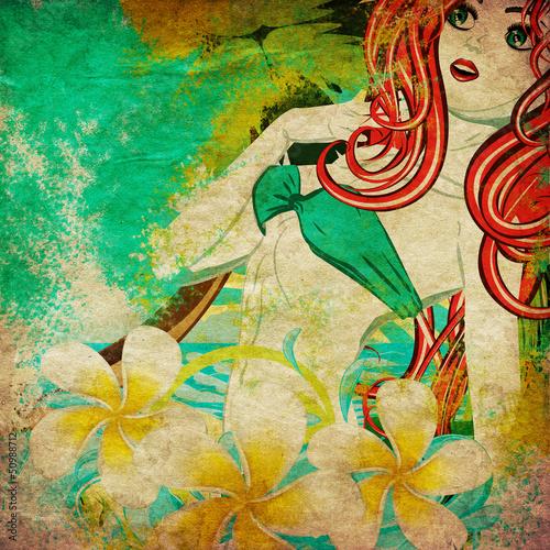 Grunge island girl