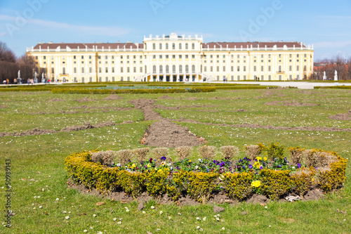 Schonbrunn Palace in Wien