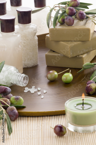 Olive Spa Set with Soap