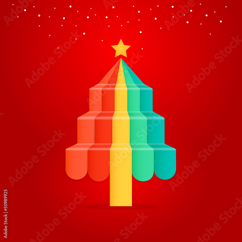 Christmas Greeting Card. vector eps10