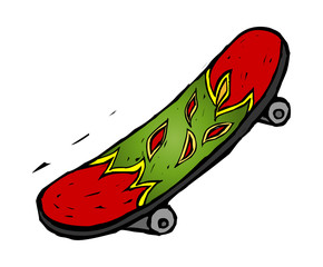 icon_ skatesboard