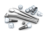 Teeth, implants, and dental instruments