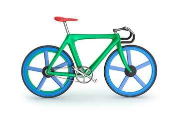 Road bicycle. My own design.