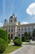 Kunsthistorisches Museum  summer view in Vienna, Austria.