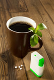 Stevia sweetener in your coffee