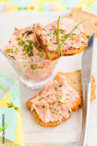 salmon spread